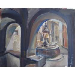 Fontaine St-Paul de Vence