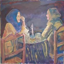 deux copines à Tanger