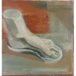 Vue interne pied