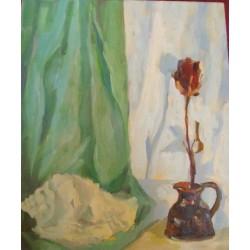 coquillage à la fleur  55*38cm
